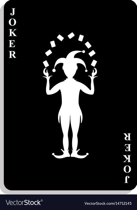 joker poster black  white