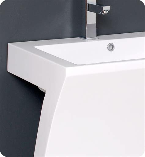 22 inch vanity with sink fresca quadro 22 5 modern bathroom vanity fresca white