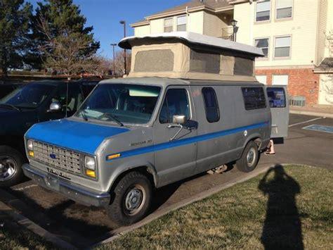 1988 Ford E-150 Econoline Sportsmobile Camper Van!
