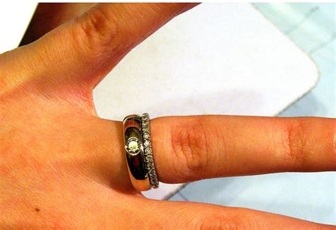 getting a wedding band instead of engagement ring ok