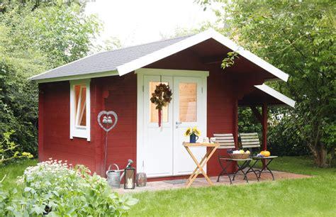 Gartenhaus «300x240cm Holzhaus Bausatz 34mm» Holz