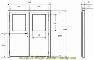 Dimension Porte Standard Exterieur : cool taille standard porte garage double dimension garage ~ Melissatoandfro.com Idées de Décoration