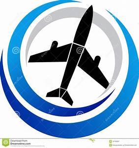 Plane Logo Royalty Free Stock Photography - Image: 19732087