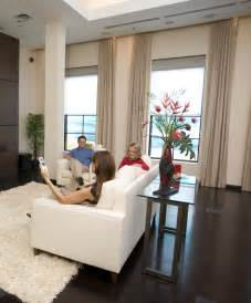 Drapes For Windows Living Room by Motorized Blinds And Shades 3 Blind Mice Window Coverings