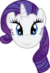 My Little Pony Rarity Face