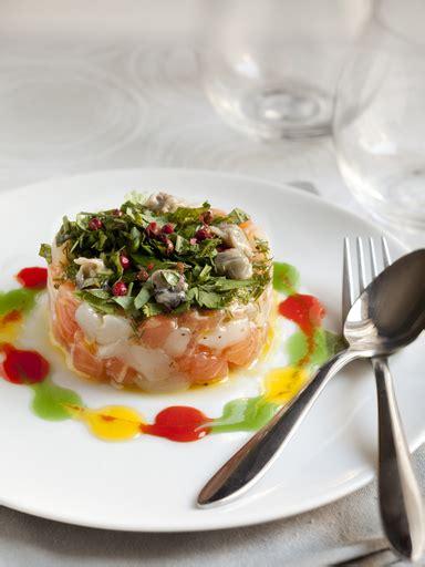 aufeminin cuisine recette tartare de saumon et de jacques au coulis de
