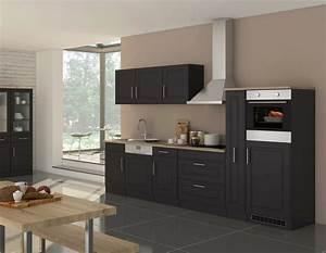 Küche 240 Cm Mit Elektrogeräten : k chenzeile k ln k che mit e ger ten breite 330 cm grau graphit k che k chenzeilen ~ Bigdaddyawards.com Haus und Dekorationen