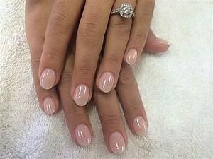 Natural acrylic nails | Glitter acrylic nails! | Pinterest ...