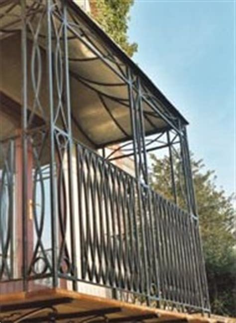Wrought Iron Balcony Construction and Manufacturers