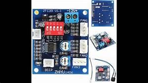 5  12v Fan Temperature Control Speed Demo