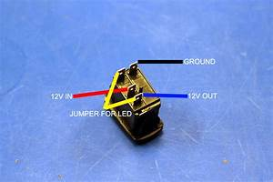 Marine Lighted Toggle Switch Wiring Diagram