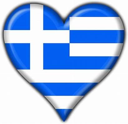Greek Flag Heart Greece Redbubble