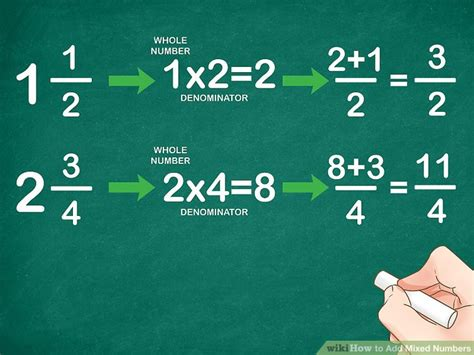 How To Add Mixed Numbers 11 Steps (with Pictures) Wikihow