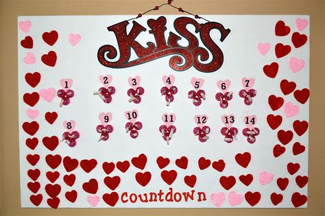 Make A Valentine's Day Countdown Calendar » Dollar Store