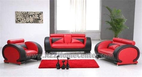 Red And Black Living Room Set : 20 Ideas Of Black And Red Sofa Sets