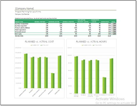 simple project plan templates word excel  format