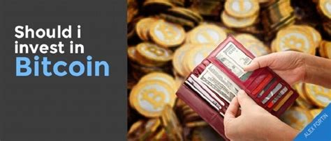 Bitcoin is a momentum investment, while gold is more of a value investment at this point. Should You Invest in Digital Currency Like Bitcoin?
