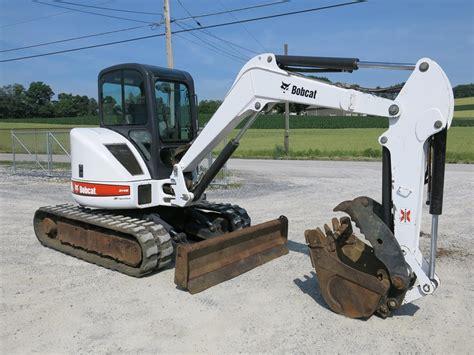 bobcat gzhs excavators mini    lbs  auction  machinerytradercom