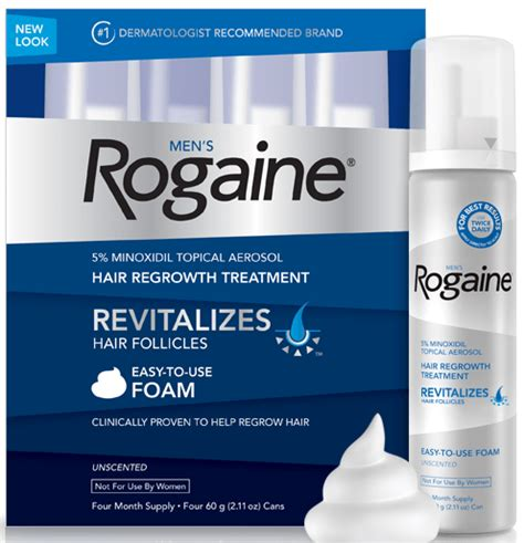 Rogaine for Receding Hairline: 5 Super Important Facts