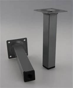 Möbelfüße Metall Eckig : m belfuss tischbein sofafuss silber eckig 25x25mm h he 300mm kaufen bei ms beschl ge ~ Watch28wear.com Haus und Dekorationen