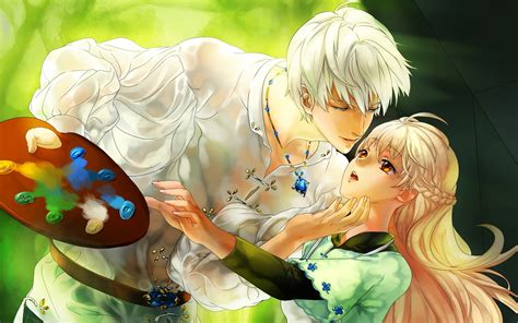 anime couples wallpaper wallpapersafari