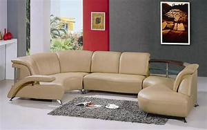 Modern white leather sectional sofa 104 black design co for Sectional sofa 104