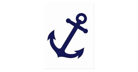 souris bureau ancre de bleu marine carte postale zazzle