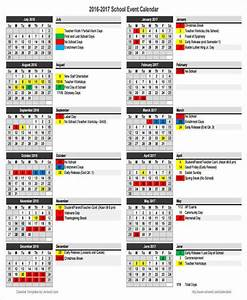 6 school calendar templates examples in word pdf With sample calendar of events template
