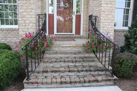Handrails For Outdoor Steps Home Depot
