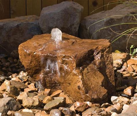 the 25 best ideas about rock fountain on pinterest