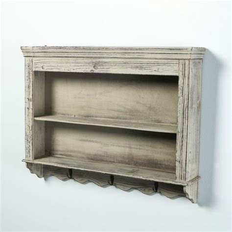 shabby chic wall units wooden wall shelves vintage shabby chic and wooden walls on pinterest