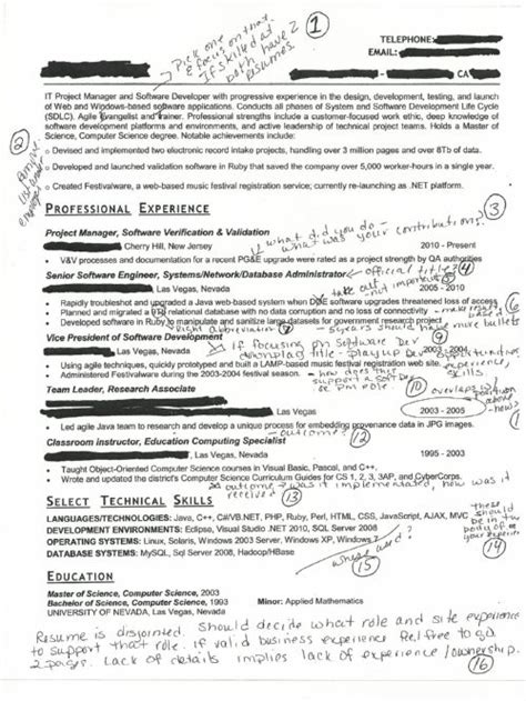 resume headline for 6 months experienced software engineer