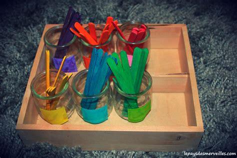 jeux de cuisine de glace trier les couleurs avec des bâtonnets colorés activité