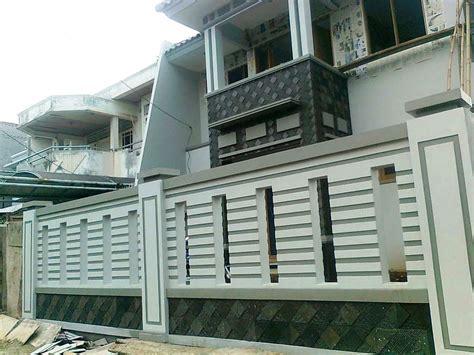 model pagar  rumah mewah desain rumah minimalis