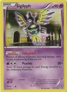 Pokemon Cards Type Chart Sigilyph Dragons Exalted 52 Bulbapedia The Community