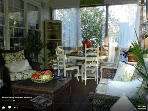 Great Porches by Great Screened Porch Outside Living Pinterest