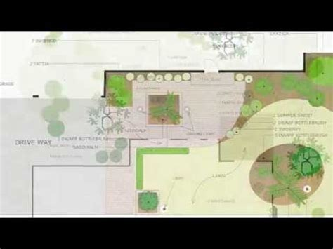 how to learn landscape design learn how to create landscape plans with smartdraw youtube