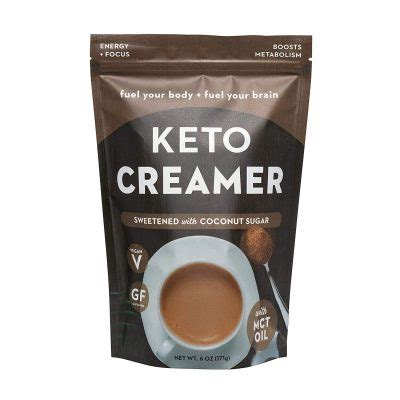 Prymal came from a need to help family members with type ii diabetes remove sugar from their diet without giving up something they loved: 360 Nutrition KETO Creamer With MCT Oil | Sweetened Coconut Sugar | Dairy Free Coffee Creamer ...