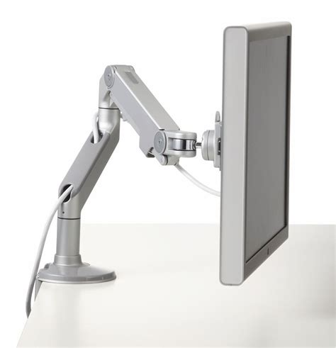 monitor stands for desk south africa m8 adjustable monitor arm from humanscale