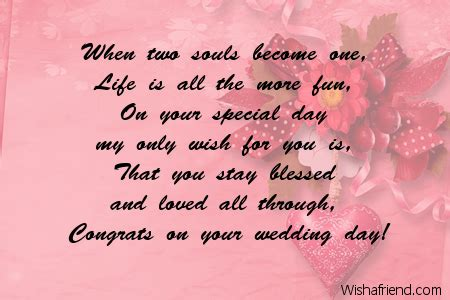 Wedding Congratulations Best Wishes Messages