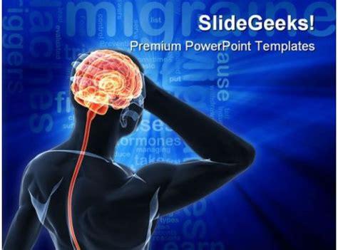 headache migraine medical powerpoint templates