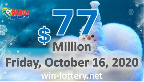 Mega millions drawings are held tuesday and friday at 11:00 pm et. THE RESULTS OF MEGA MILLION ON OCTOBER 13, 2020; JACKPOT ...