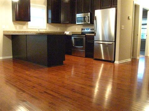 Gunstock Oak Flooring Kitchen Gunstock Maple Kitchen Floor Contemporary Kitchen Detroit By Legacy Floors