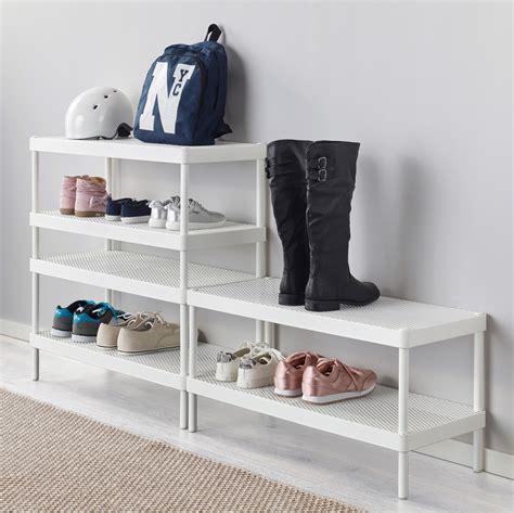 shoe shelf ikea ikea storage solutions for minimalists on a budget