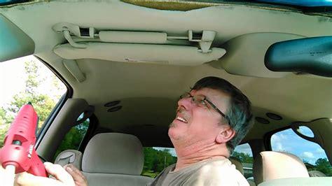 Diy Car Upholstery Repair by Diy Sagging Headliner Repair
