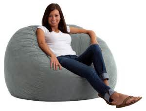 fuf 4 ft large comfort suede bean bag lounger bean bags