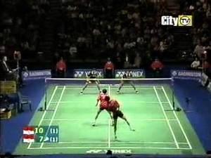 Badminton Best Men's Doubles Match Ever [3/3] - YouTube