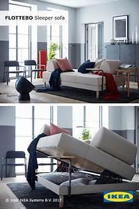 Gästezimmer Einrichten Ikea : flottebo sleeper sofa lysed green pinterest wohnzimmer 1 zimmer wohnung and haus ~ Buech-reservation.com Haus und Dekorationen