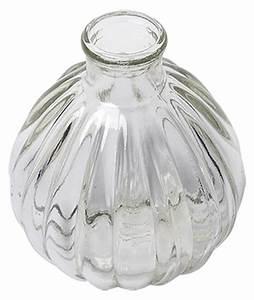 Petit Vase En Verre : le petit vase boule fiole vintage r tro d coration de table ~ Teatrodelosmanantiales.com Idées de Décoration