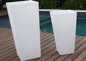 Cache Pot Interieur : pot lumineux jardini re lumineuse carr e link chez ksl living ~ Premium-room.com Idées de Décoration